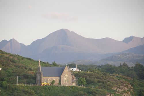 Gairloch Free Church at Sunset