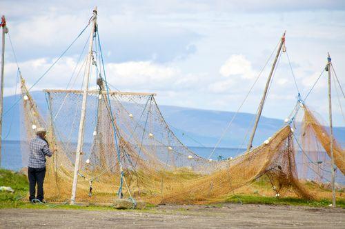 Mending the Nets - Portmahomack